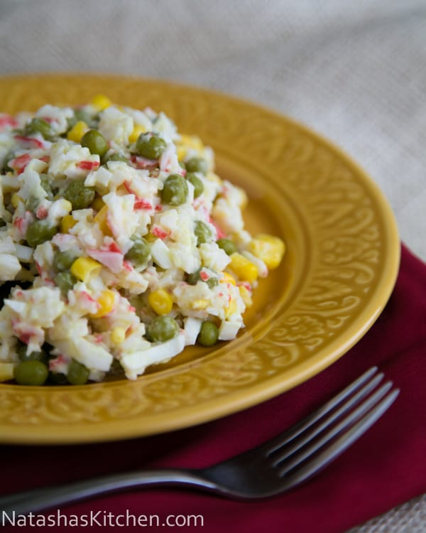 Crab Salad Recipe – Крабовый Салат