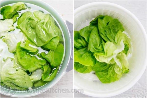 terah 39 s delicious lettuce wraps natasha 39 s kitchen. Black Bedroom Furniture Sets. Home Design Ideas