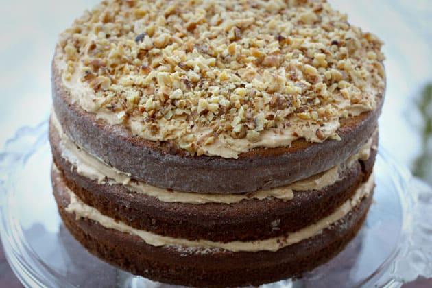 Aunt Anna's Korolevsky cake