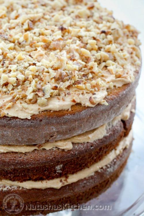 Royal Walnut Cake Natasha S Kitchen