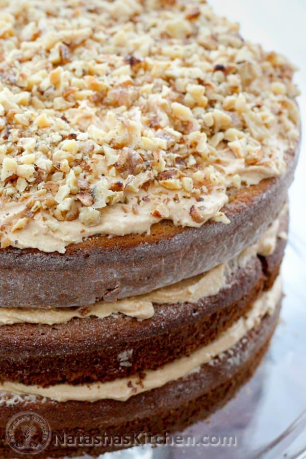 Russian Korolevsky Cake