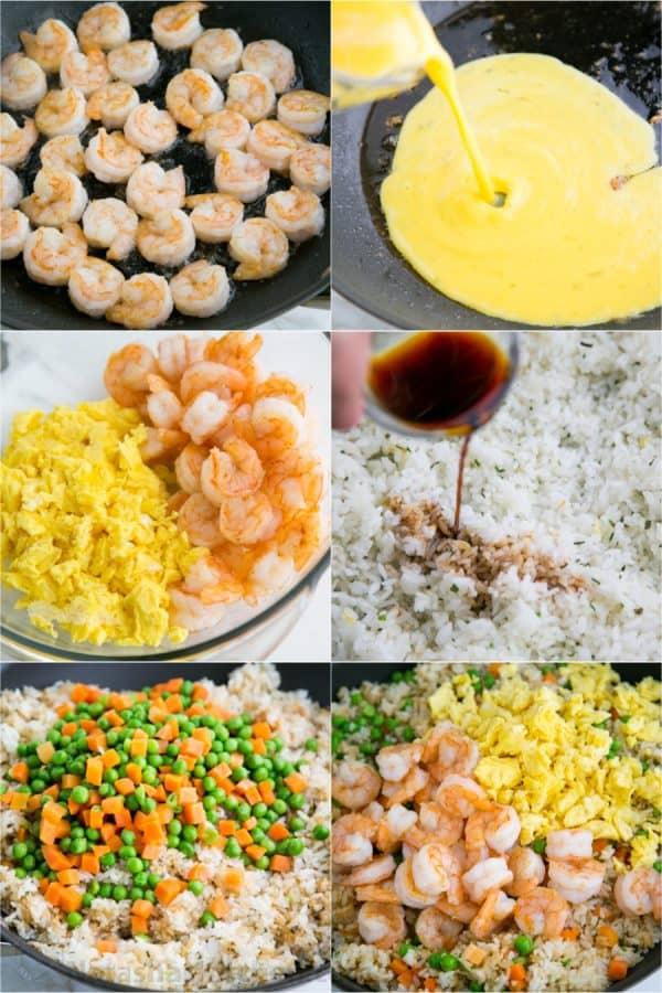 Shrimp fried rice recipe video natashaskitchen how to make shrimp fried rice ccuart Choice Image