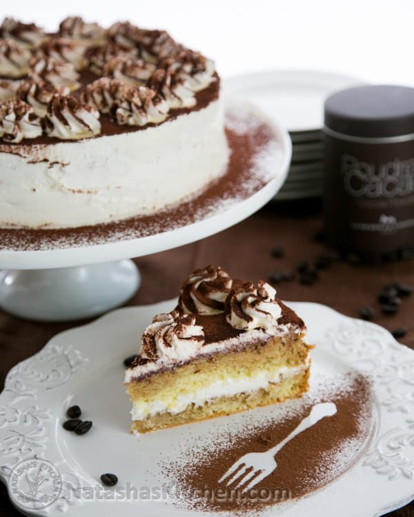 Clearly tiramisu is an Italian dessert. I'd call this the Russian adaptation. The frosting is light and fabulous. Hope you enjoy it, my family loves it!