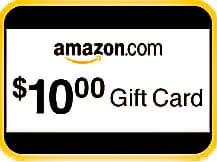 A 10$ Amazon gift card