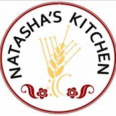 A logo for Natasha's kitchen