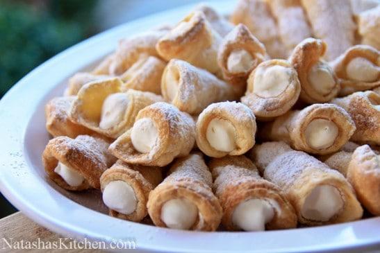 Cream Puff Pastry Filling Recipe Puff Pastry Cream Horns