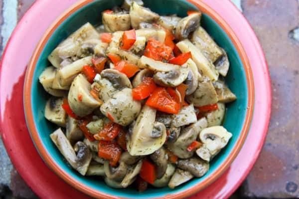 Marinated Mushrooms Recipe | NatashasKitchen.com