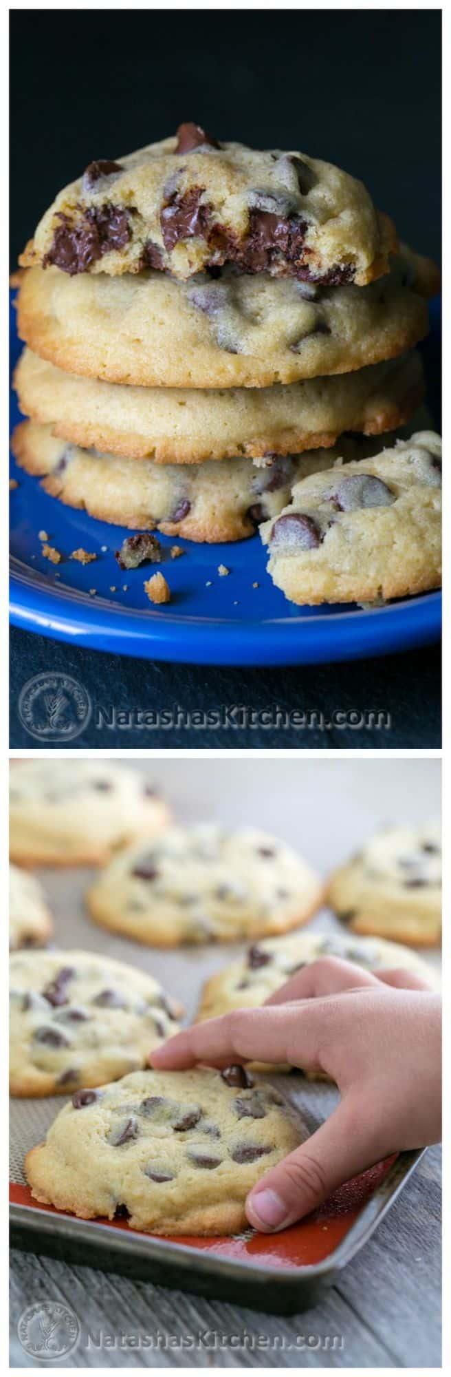 Soft Chocolate Chip Cookies Recipe - NatashasKitchen.com