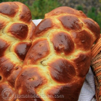 This Portuguese Easter Bread recipe makes 2 beautiful loaves; one for you and one for the neighbors. This also makes the most phenomenal french toast.