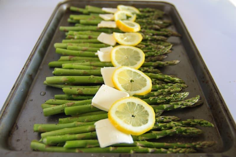 Baked Asparagus with Lemon, Butter and Parmesan | NatashasKitchen.com