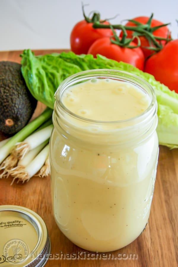 Perfect Caesar Dressing | Delicious Homemade Salad Dressing Recipes | healthy salad dressing recipes with olive oil