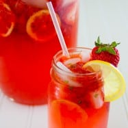 This refreshing Strawberry Basil Lemonade makes for a great party drink; or make a jug for your family and enjoy it at home.