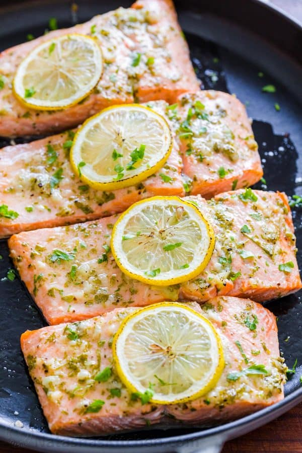 Baked Salmon With Garlic And Dijon Video