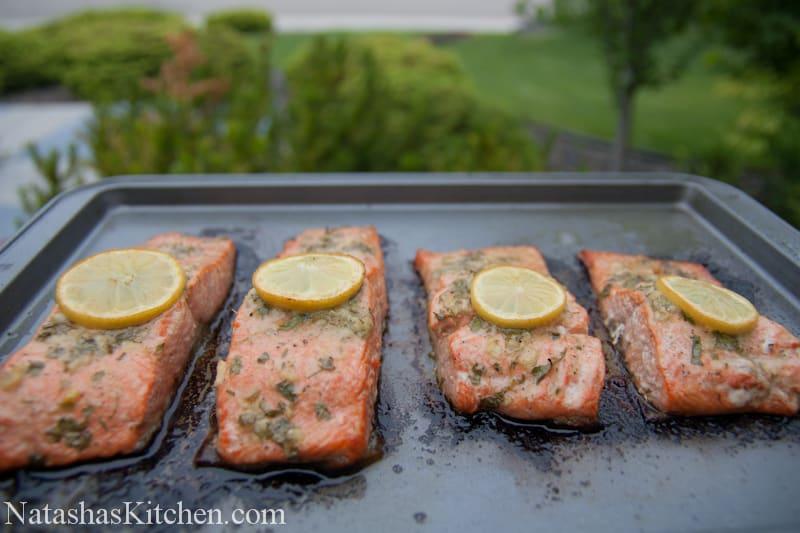 Baked Salmon Recipe-9 | NatashasKitchen.com