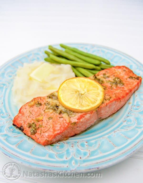 Baked Salmon Recipe With Garlic And Dijon