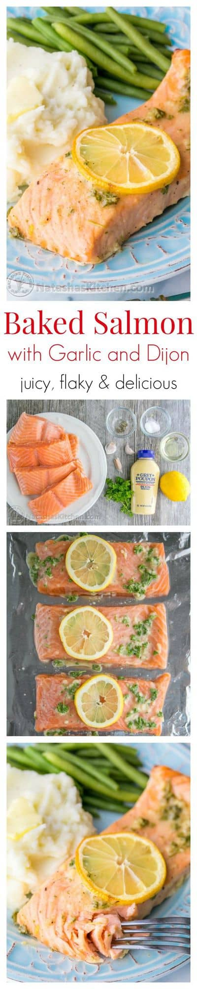 Our Favorite Baked Salmon Recipe  Juicy, Flaky And Super Delicious A 5