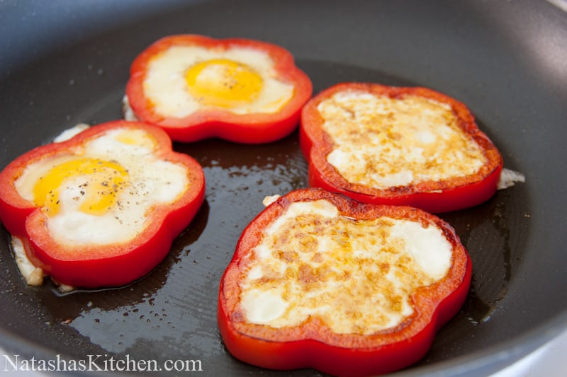 Red Pepper Egg-In-A-Hole Recipes — Dishmaps