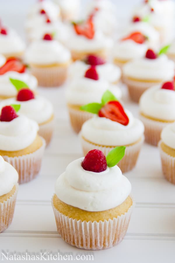 Vanilla Cupcake Recipe Made With Cake Flour