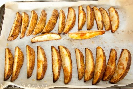 5. - Oven Baked Potato Wedges