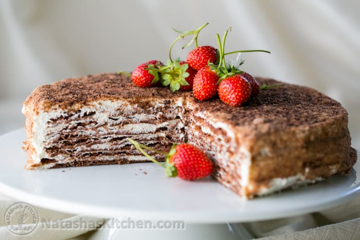 Chocolate Spartak Cake Recipe