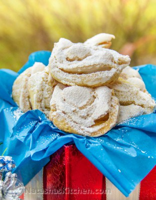 These Meringue Cookies are worthy of being on the Christmas cookie list! These meringue cookies are soft, chewy and crisp. Beautiful and delicious!