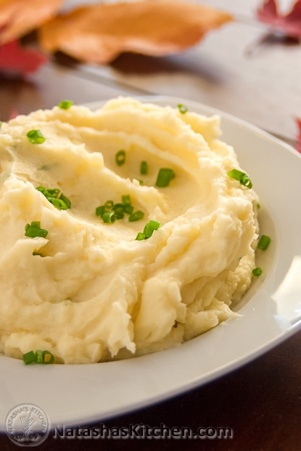 Garlic and Chive Mashed Potatoes Recipe
