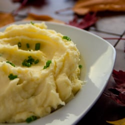 garlic mashed potatoes1