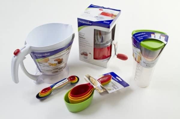 Progressive cooking set