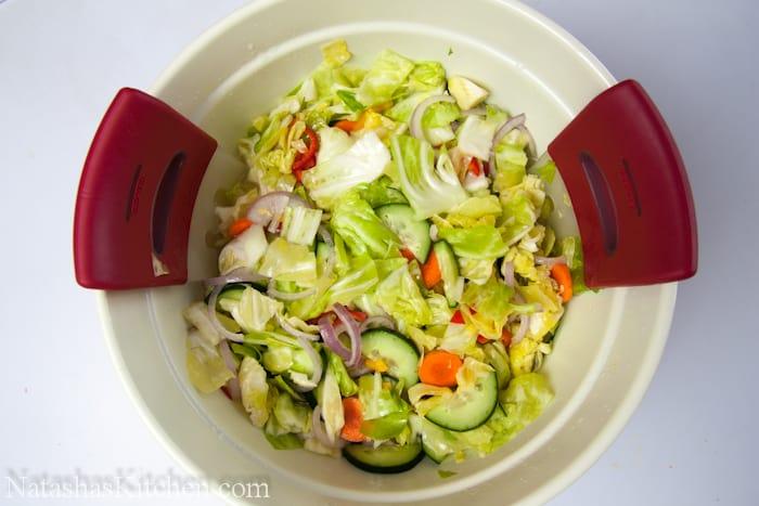 Marinated Vegetable Salad-12 - NatashasKitchen.com