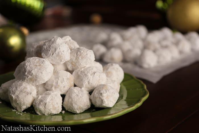 Russian Tea Cakes Recipe | NatashasKitchen.com
