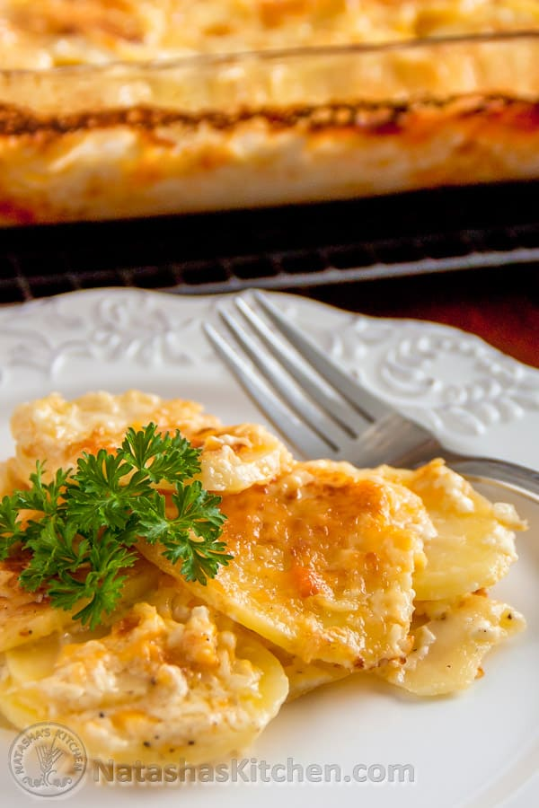 These Scalloped Potatoes Are Rich And Wonderful This Is A Very Nice Dish For Any