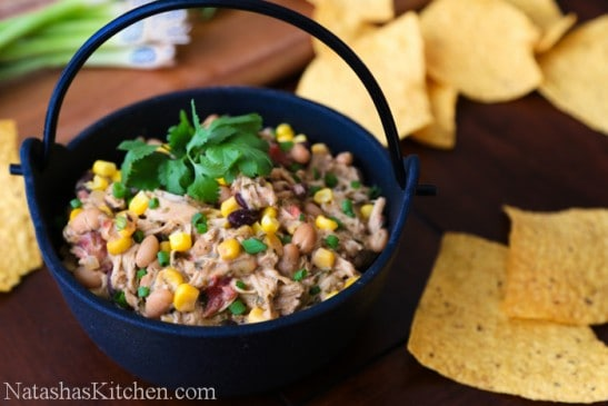 This Chicken Cream Cheese Chili is so easy! I love a good one-pot meal ...