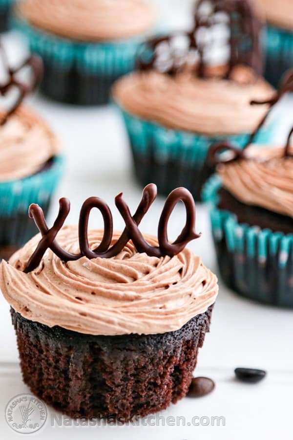 Moist Chocolate Cupcakes with Prague Frosting post image
