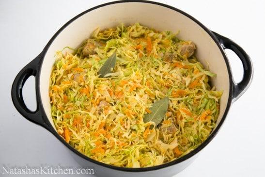 Braised Cabbage-11