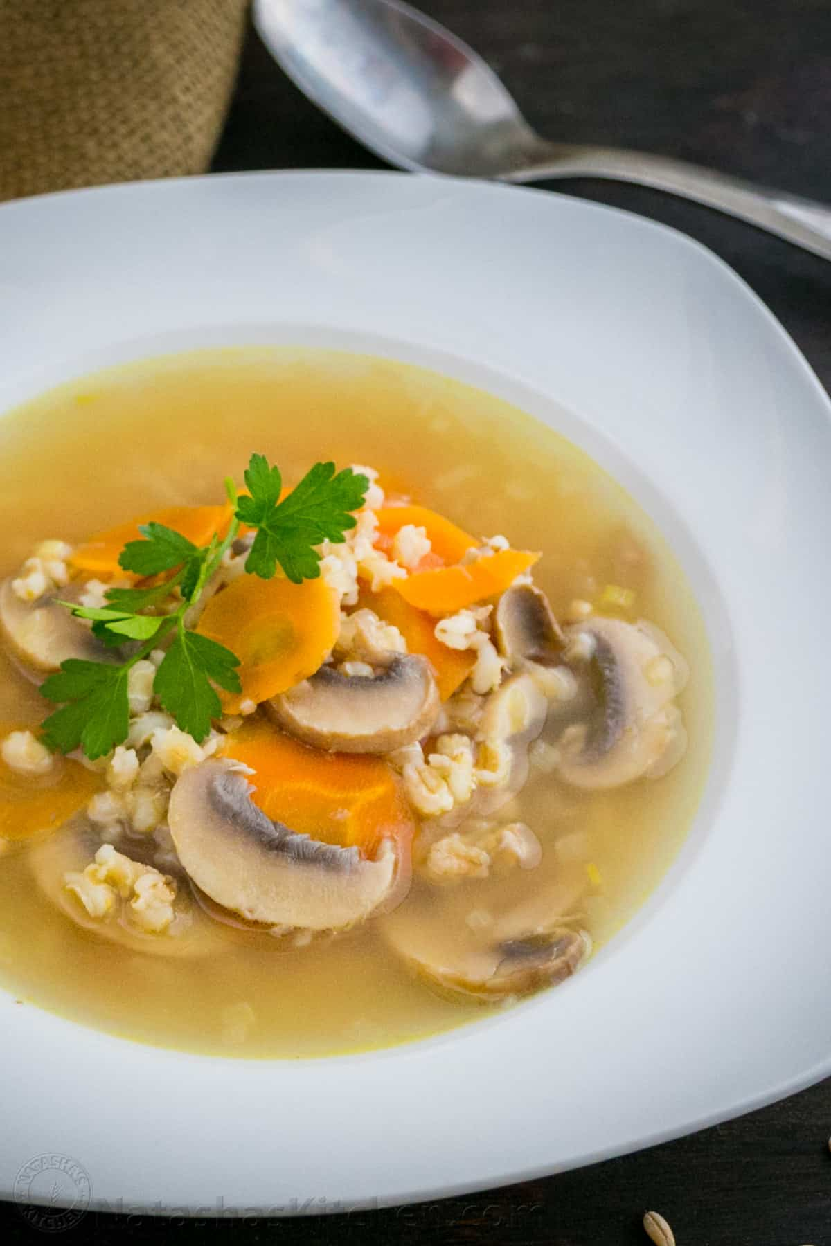 How to prepare rassolnik with pearl barley for the winter