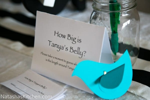 Welcoming Tanya S Little Man Baby Shower Menu And Decor