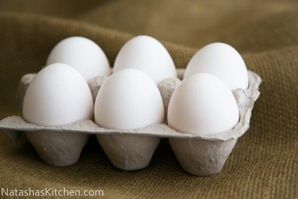 How to Cook Perfect Hard-Boiled Eggs | NatashasKitchen.com