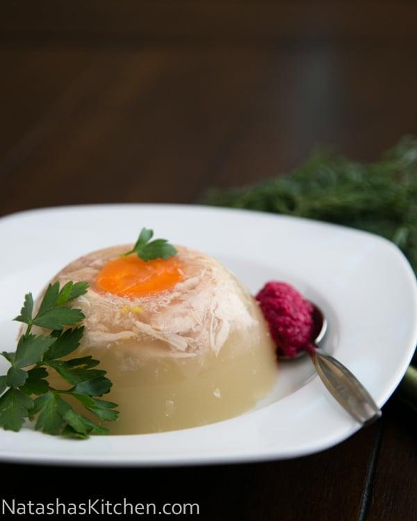 Ukrainian aspic recipe kholodets for Natashas kitchen