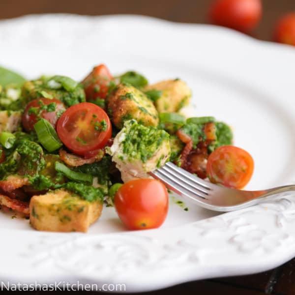 Creamy Spinach Salad new