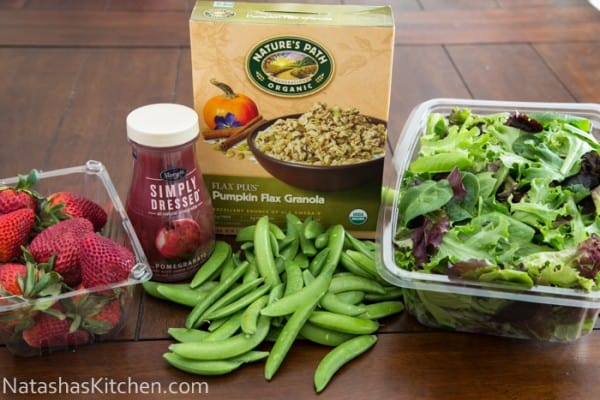 Stawberry Snap Pea Salad