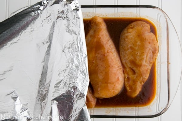 Sweet and Spicy Baked Chicken-7