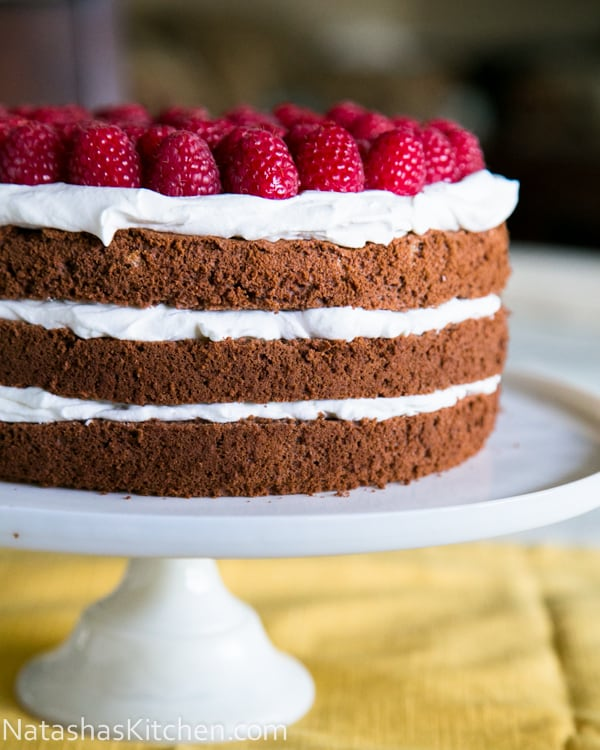 Triple Layer Chocolate Cake-1-2