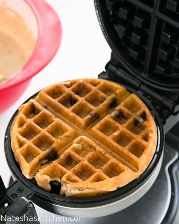 Whole Wheat Blueberry Waffles-2-2