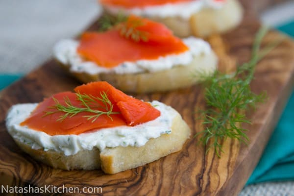 Salmon Tea Sandwiches (salmon canapes)-10