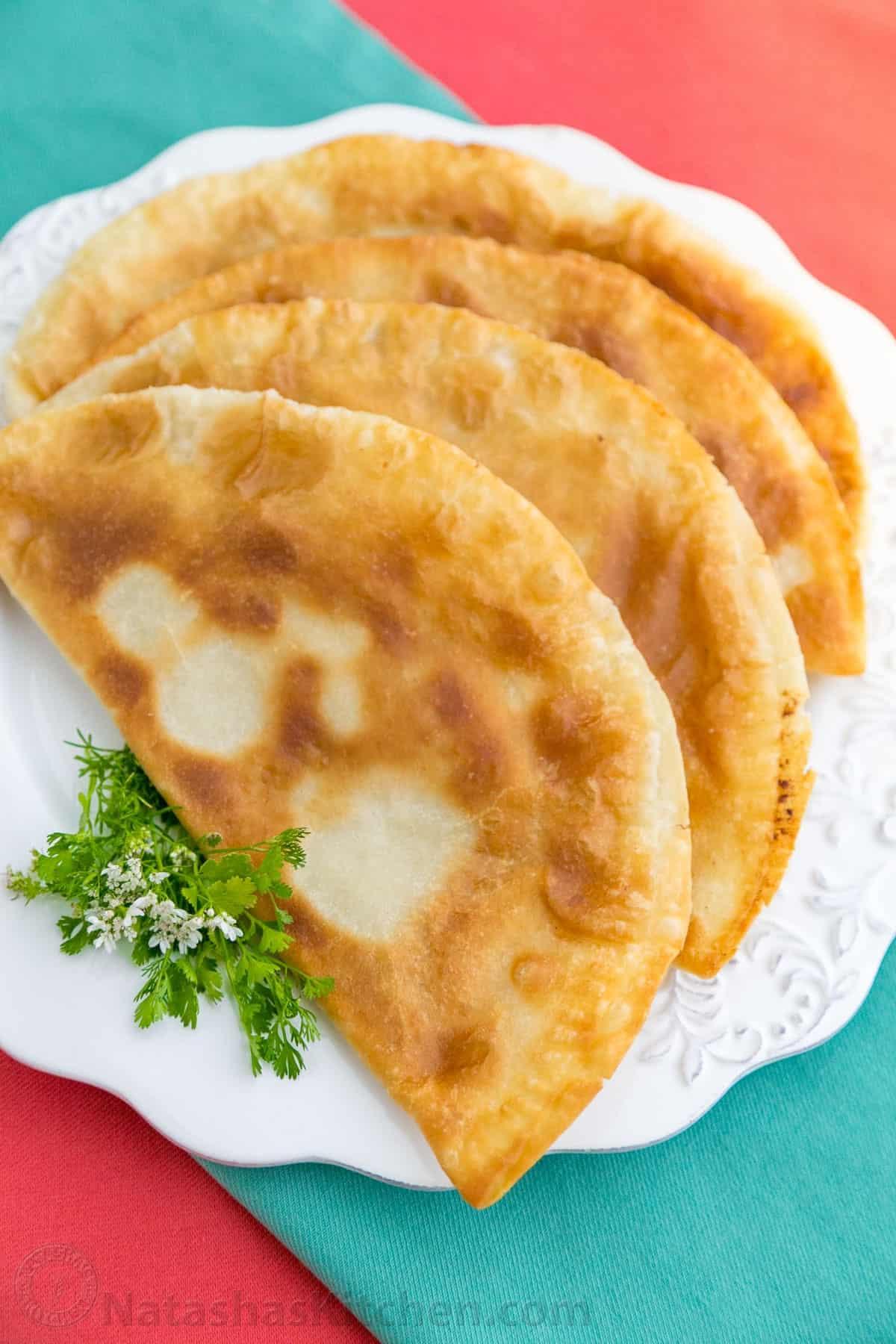 Turkey chebureki turkey turnover natasha 39 s kitchen for Natashas kitchen