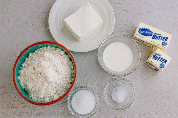 Flaky Cream Cheese Pie Crust