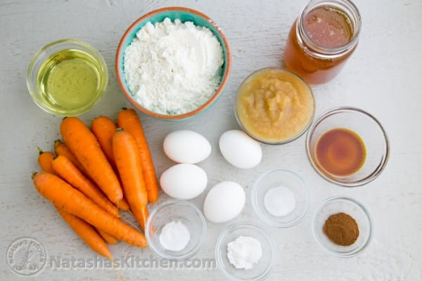 Cake Recipes With Pictures And Ingredients : The Healthier Carrot Cake Recipe