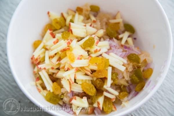 how to make homemade sauerkraut recipe
