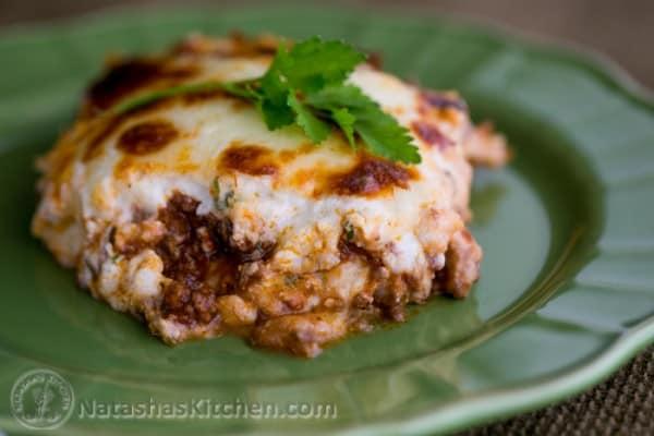 3 cheese lasagna recipe natasha 39 s kitchen for Natashas kitchen