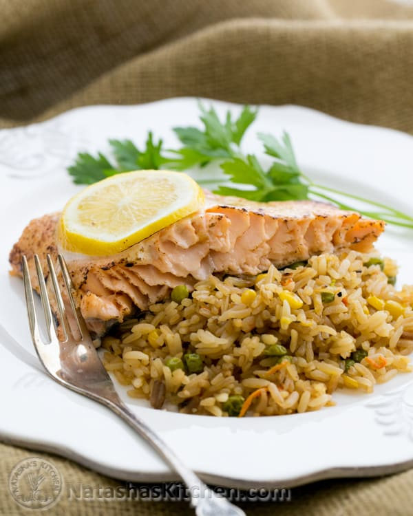 baked salmon with a tangy glaze. Black Bedroom Furniture Sets. Home Design Ideas
